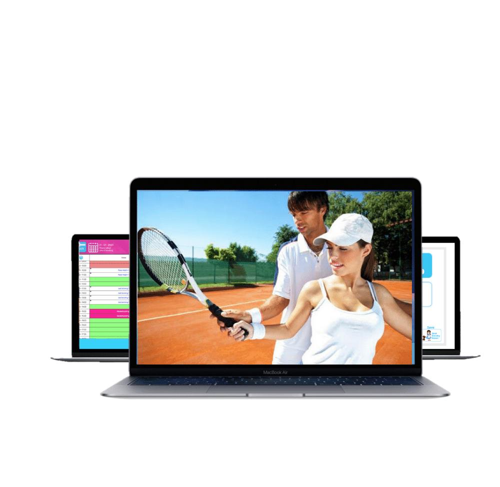photo displaying tennis